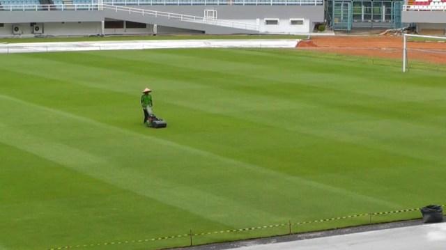 Foto: Renovasi Stadion GSJ Palembang Jelang Piala Dunia U-20 (233173)