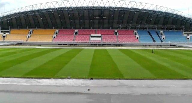 Foto: Renovasi Stadion GSJ Palembang Jelang Piala Dunia U-20 (233174)