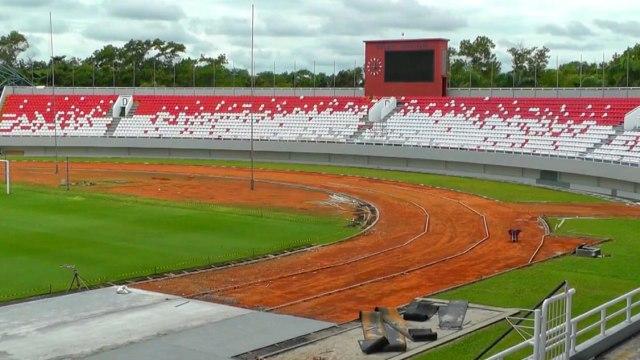 Foto: Renovasi Stadion GSJ Palembang Jelang Piala Dunia U-20 (233175)