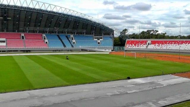 Foto: Renovasi Stadion GSJ Palembang Jelang Piala Dunia U-20 (233176)