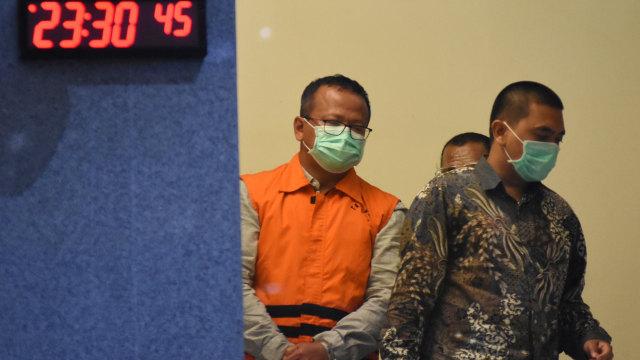 Jadi Tersangka Suap Benih Lobster, Edhy Prabowo Minta Maaf ke Prabowo (32174)