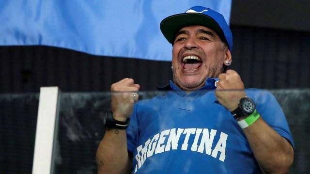 Mara & Dona: Anak Kembar yang Namanya Terinspirasi Diego Maradona (26295)