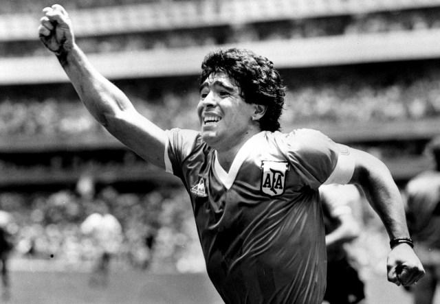 Tangan Tuhan Diego Maradona: Bobol Jala Inggris dan Gagalkan Gol Soviet (1)