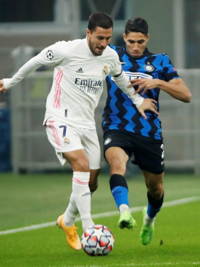 Inter vs Madrid: Diwarnai Kartu Merah & Bunuh Diri, Nerazzuri Keok 0-2 (12290)