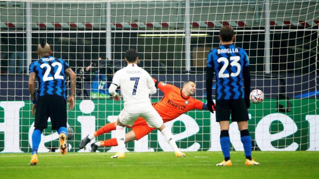 Inter vs Madrid: Diwarnai Kartu Merah & Bunuh Diri, Nerazzuri Keok 0-2 (12292)