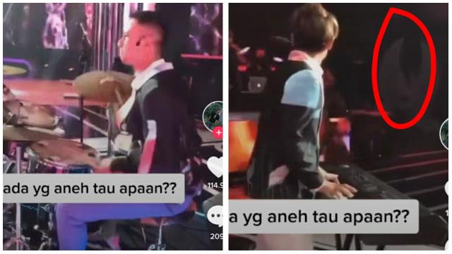 Viral Video Raffi Ahmad Sedang Main Drum, Netizen Salfok Penampakan Kuntilanak (247041)