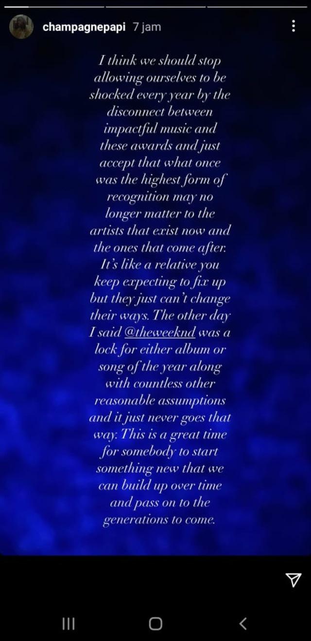 The Weeknd Sebut Grammy Awards Korup, Elton John dan Drake Beri Dukungan (318845)