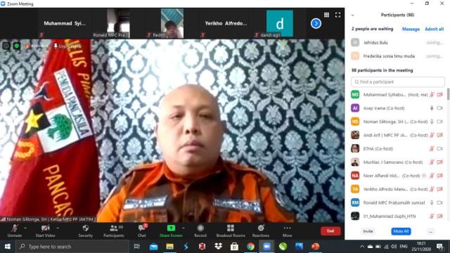 Kecam Kerusuhan Demo UU Cipta Kerja, Pemuda Pancasila Ingatkan Mahasiswa (84197)