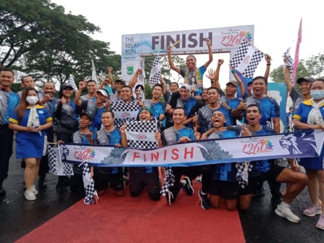 Finish The Relay Run 1.260 Km, 60 Runners Lewati 72 Wisata di Kabupaten Malang (45808)