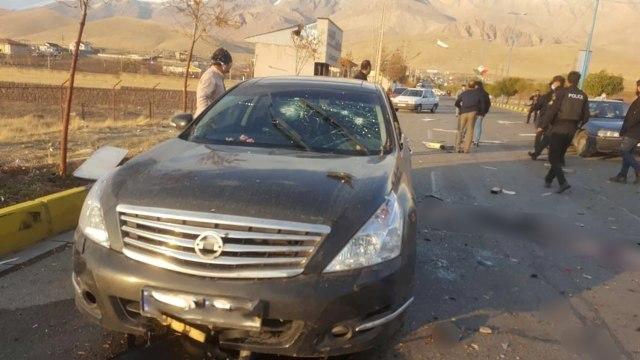 Ilmuwan Nuklir Iran Dibunuh Pakai Senjata Canggih yang Dikendalikan Satelit (44232)