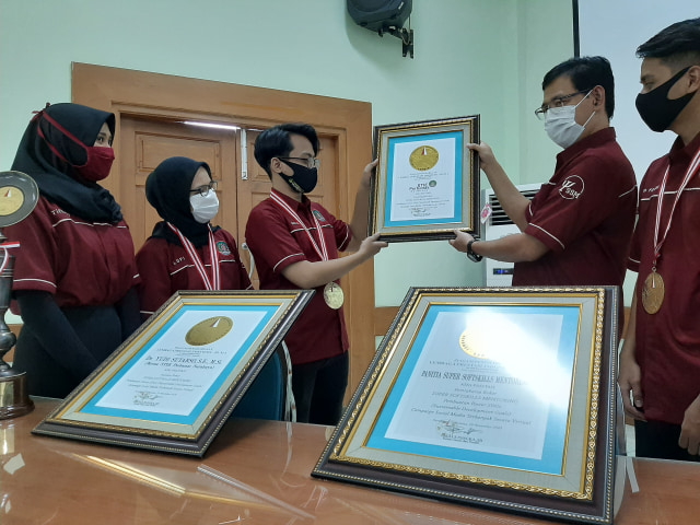 Kampanyekan Soal SDGs Lewat Virtual, Mahasiswa Surabaya Pecahkan Rekor Dunia (9541)