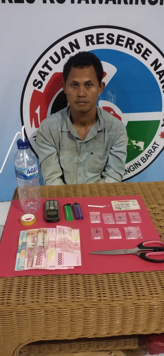Seorang Sopir di Kalteng Bawa Paket Sabu Siap Edar Terciduk Polres Kobar (606586)
