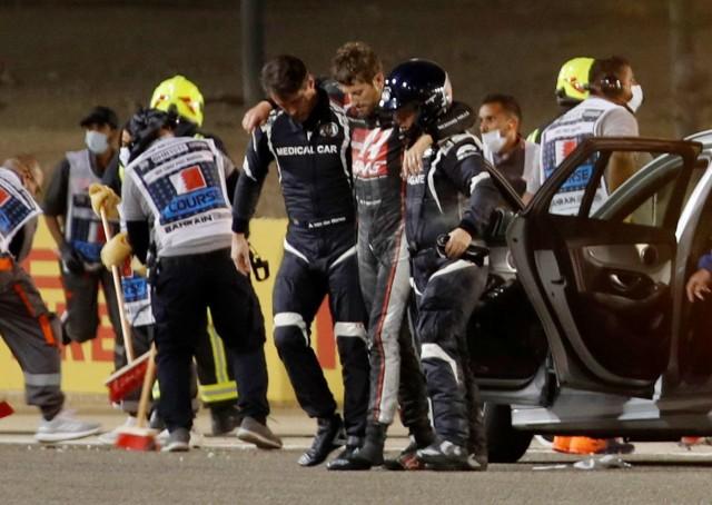 Mengenal Halo, Komponen Mobil F1 yang Selamatkan Romain Grosjean dari Maut (78841)
