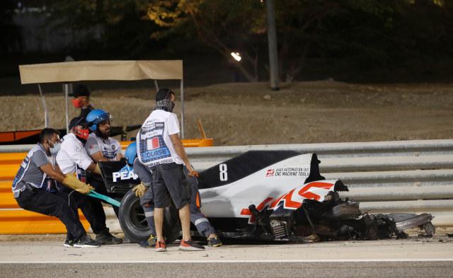 Mengenal Halo, Komponen Mobil F1 yang Selamatkan Romain Grosjean dari Maut (78846)