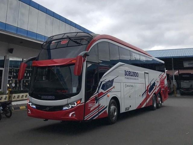 PO Borlindo Operasikan Bus Baru buat Warga Makassar, Susunan Kursinya Berjarak (422831)