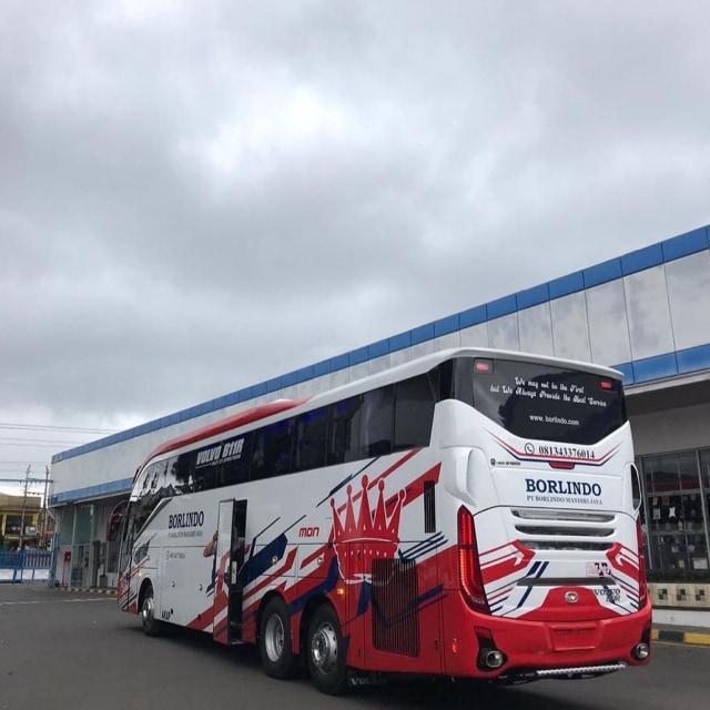 PO Borlindo Operasikan Bus Baru buat Warga Makassar, Susunan Kursinya Berjarak (422833)