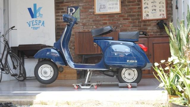 Baru Jalan 47 Km, Vespa P150S Strada Lansiran 1984 Dijual Rp 150 Juta (22448)