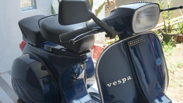 Baru Jalan 47 Km, Vespa P150S Strada Lansiran 1984 Dijual Rp 150 Juta (22452)