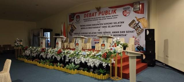 Keamanan Kurang Kondusif, Debat Kandidat Putaran Kedua di Sorong Selatan Ditunda (293889)