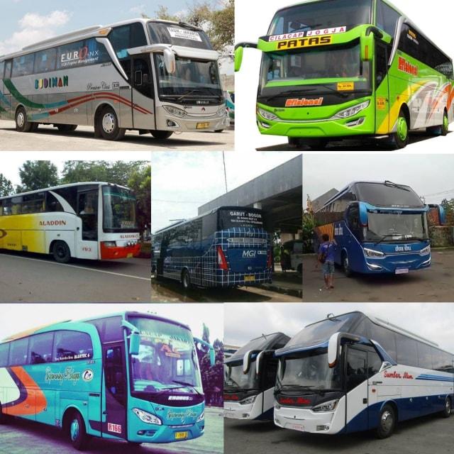 Ini 7 PO Bus yang Masih Setia Layani Jalur Selatan Pulau Jawa (35233)