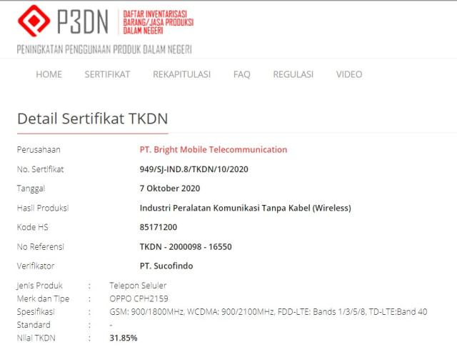 Oppo Reno 5 Dipastikan Masuk Indonesia, Sudah Lulus TKDN (44662)