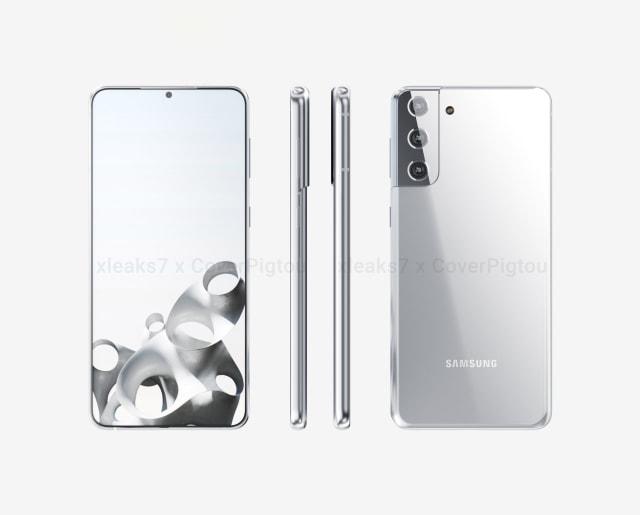 Bocoran Bodi Samsung Galaxy S21 Plus, Kamera Belakang Punya Desain Baru (125039)