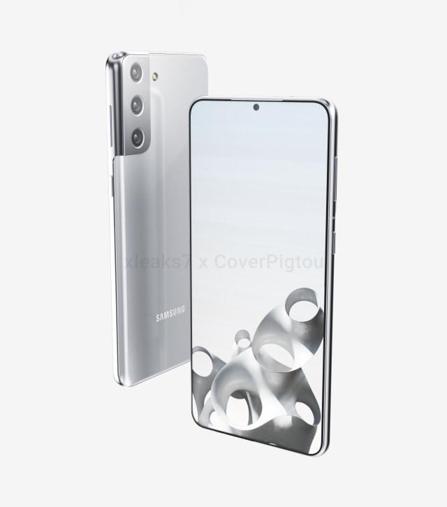 Bocoran Bodi Samsung Galaxy S21 Plus, Kamera Belakang Punya Desain Baru (125040)