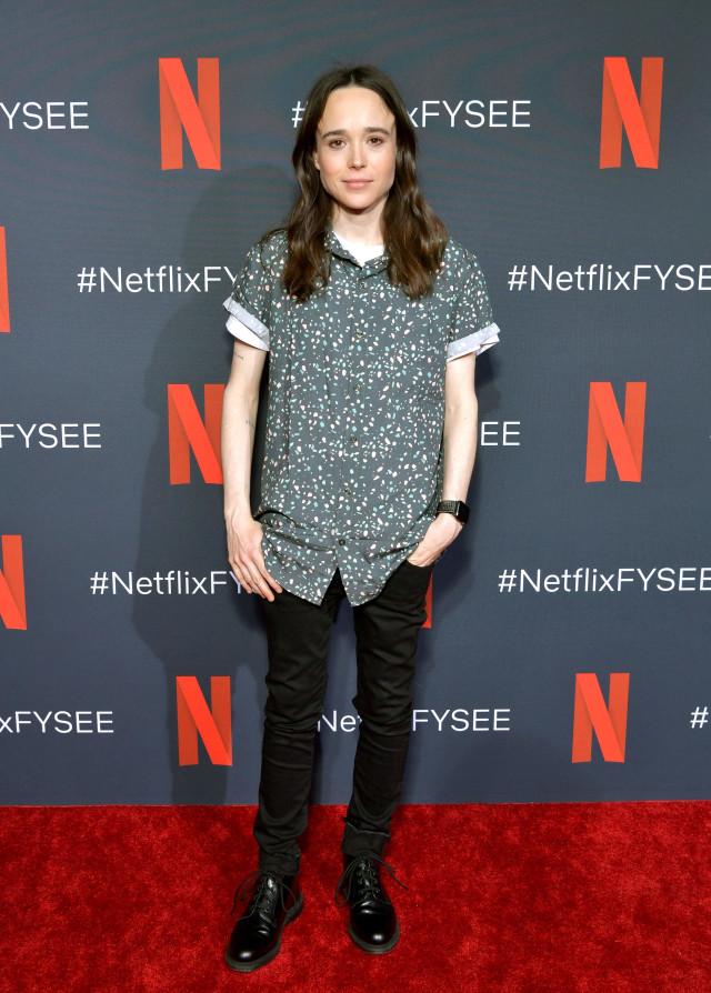 Gaya Tomboy Ellen Page, Aktris Transgender yang Ubah Nama Jadi Elliot (404445)