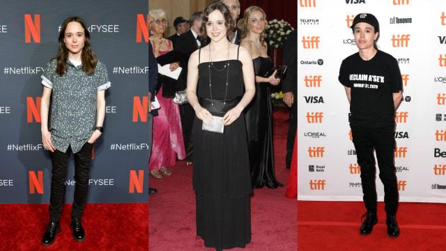 Gaya Tomboy Ellen Page, Aktris Transgender yang Ubah Nama Jadi Elliot (404439)