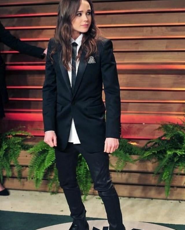 Gaya Tomboy Ellen Page, Aktris Transgender yang Ubah Nama Jadi Elliot (404444)