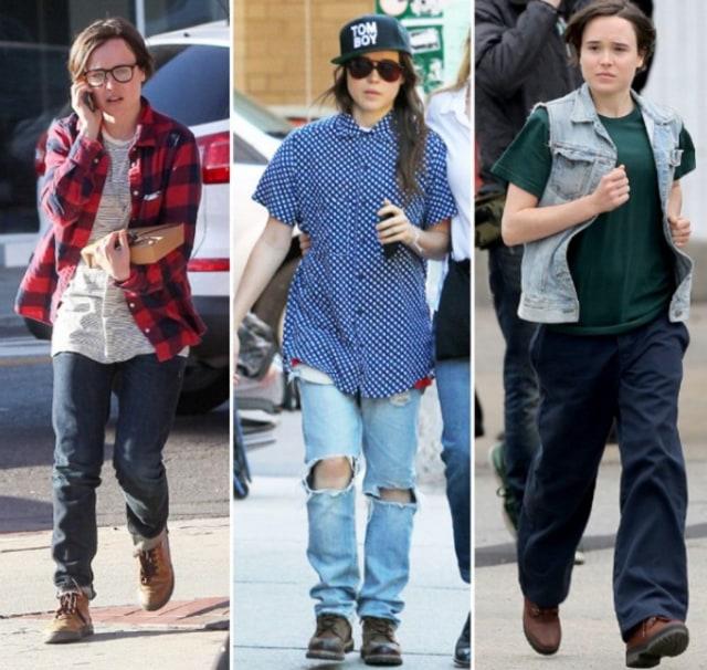 Gaya Tomboy Ellen Page, Aktris Transgender yang Ubah Nama Jadi Elliot (404443)