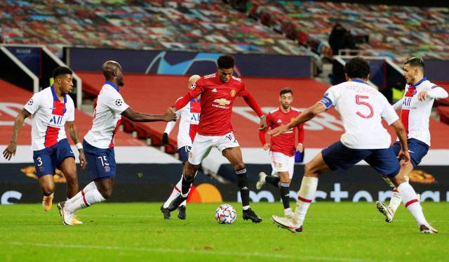 MU vs PSG: Diwarnai Kartu Merah, The Red Devils Keok di Old Trafford (3)