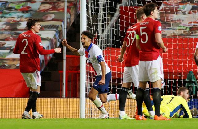 MU vs PSG: Diwarnai Kartu Merah, The Red Devils Keok di Old Trafford (4)