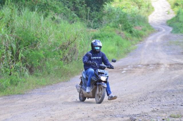 Foto: Menjajal Suzuki Nex Crossover di Aspal dan Habitat Off-Road Ringan (65918)