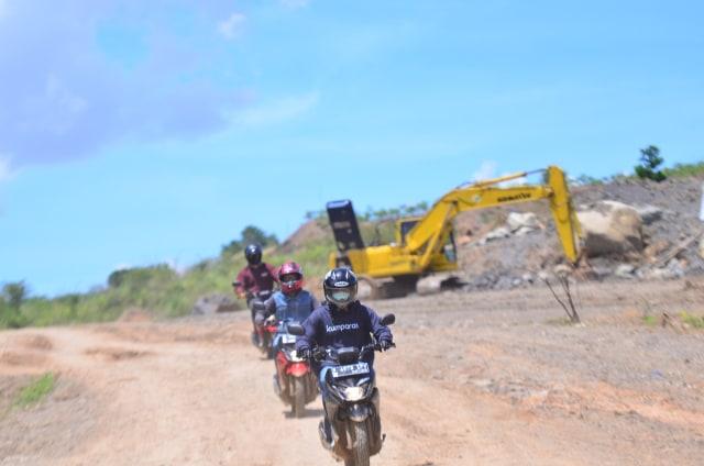 Foto: Menjajal Suzuki Nex Crossover di Aspal dan Habitat Off-Road Ringan (65915)