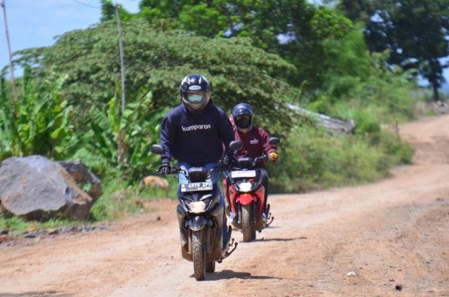 Foto: Menjajal Suzuki Nex Crossover di Aspal dan Habitat Off-Road Ringan (65916)