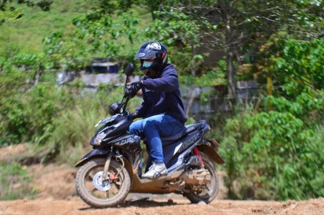 Foto: Menjajal Suzuki Nex Crossover di Aspal dan Habitat Off-Road Ringan (65910)