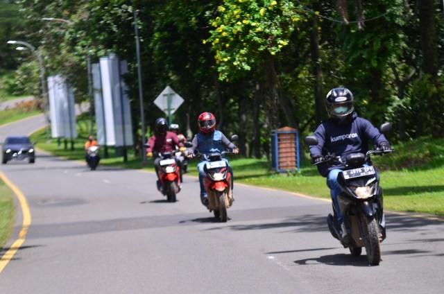 Foto: Menjajal Suzuki Nex Crossover di Aspal dan Habitat Off-Road Ringan (65907)