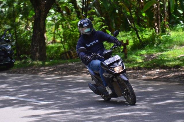 Test Ride Suzuki Nex Crossover, Motor Matik yang Bisa Diajak Main Tanah (69792)