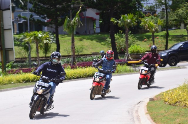 Test Ride Suzuki Nex Crossover, Motor Matik yang Bisa Diajak Main Tanah (69794)