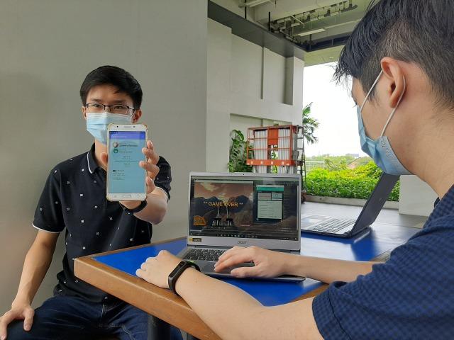Cegah Anak Kecanduan Game Online, Mahasiswa di Surabaya Bikin Aplikasi Pintar (30934)