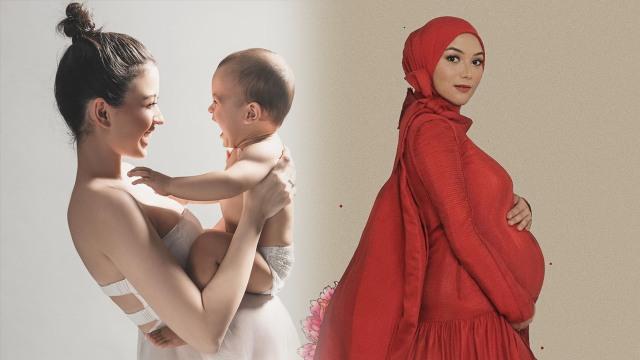 10 Inspirasi Foto Maternity Seleb Tanah Air yang Hamil di Tahun 2020 (13519)