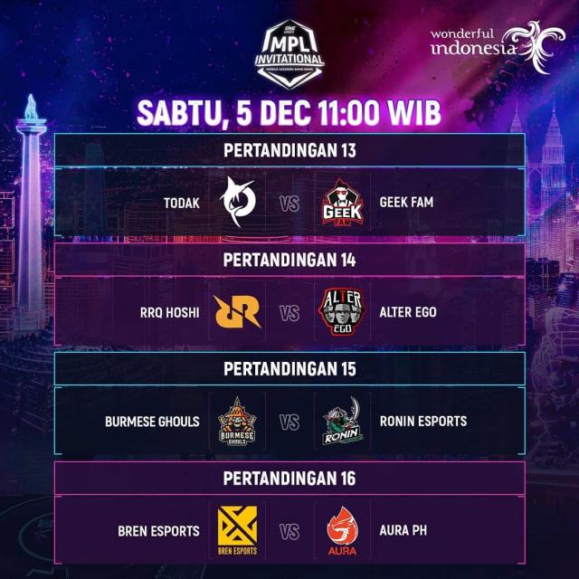 Hasil Perempat Final MPL Invitational: Geek Fam Indonesia Hancurkan Tim Malaysia (182806)