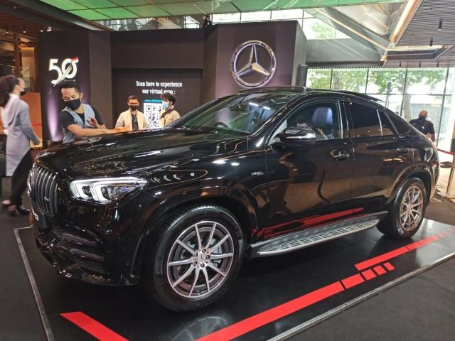 Foto: Lebih Dekat dengan 2 Mercedes-Benz GLE Coupe Terbaru (27289)