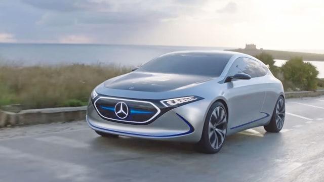 Bocoran 3 Mobil Listrik Mercedes-Benz yang Meluncur ke Indonesia Tahun 2021  (235011)