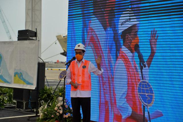 Foto: Menhub Cek Kesiapan Operasional Pelabuhan Patimban di Subang (28294)