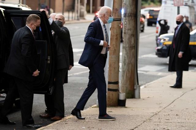 Joe Biden Pakai Sepatu Beda Sebelah saat Hadir Wawancara, Gayanya Jadi Sorotan (45020)