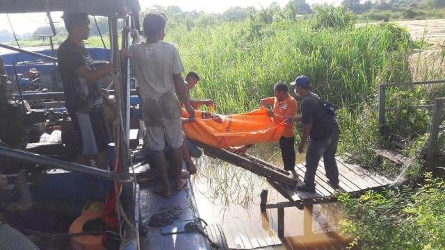 Warga Banjarmasin Tewas Tenggelam di DAS Kahayan Palangka Raya (41493)