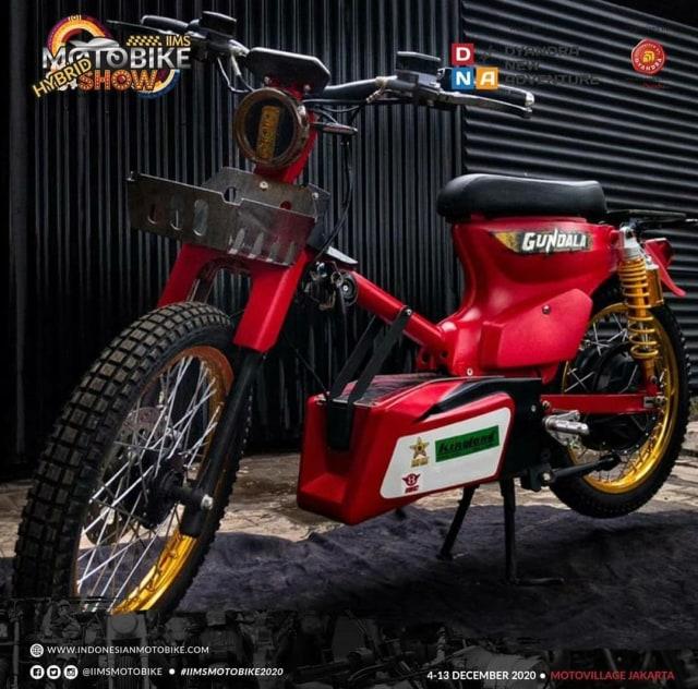 Kontes Modifikasi Motor Listrik di IIMS Motobike Show 2020  (11555)