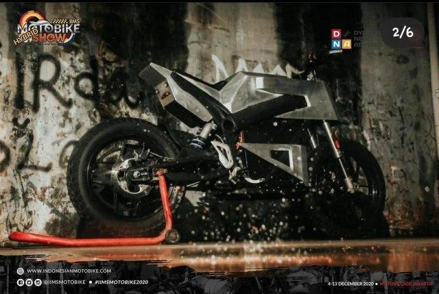 Kontes Modifikasi Motor Listrik di IIMS Motobike Show 2020  (219085)